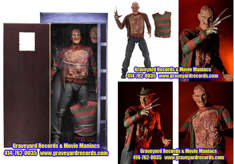 "18"" Freddy Elm Street 3 - 30th Anniversary Dream Warriors"